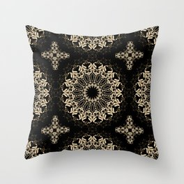 A sultry night. Throw Pillow