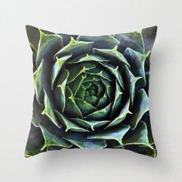 Sacred Succulent Throw Pillow