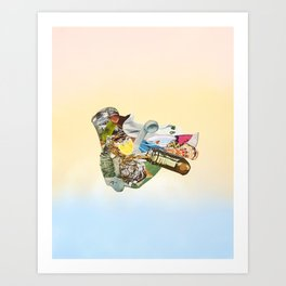 Crash Site Art Print