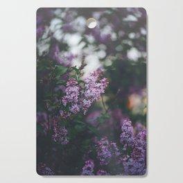 Lilacs Cutting Board