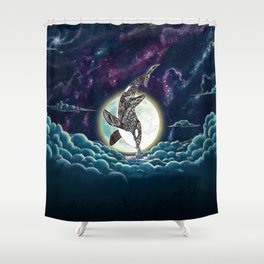Kiss Good Night - Orca III Shower Curtain
