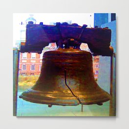 The Liberty Bell Metal Print