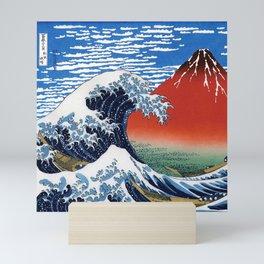 "Hokusai ""The Great Wave off Kanagawa"" & ""Fine Wind, Clear Morning"" Mini Art Print"