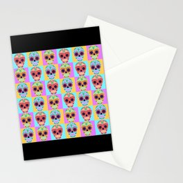 Day of the Dead Pop Art Print Stationery Cards