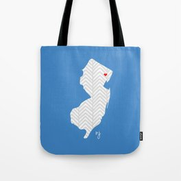 New Jersey Love Tote Bag