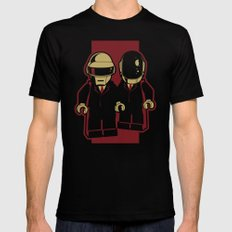 Daft Block Black MEDIUM Mens Fitted Tee