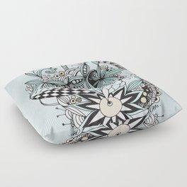 Soft summer Floor Pillow