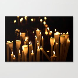 Candles Canvas Print