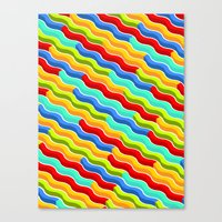 bacon Canvas Prints featuring Bacon by Roberlan Borges