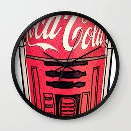 R2 Cola Wall Clock