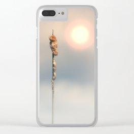 Late Summer Sun Clear iPhone Case