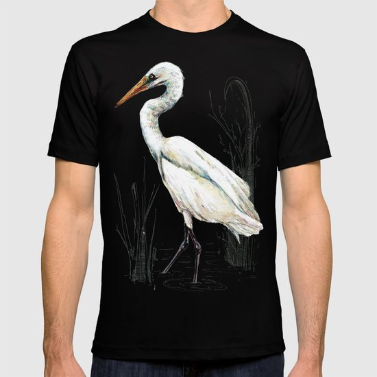 Mr Kotuku , New Zealand White Heron T-shirt