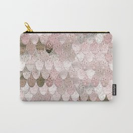 SUMMER MERMAID NUDE ROSEGOLD by Monika Strigel Carry-All Pouch