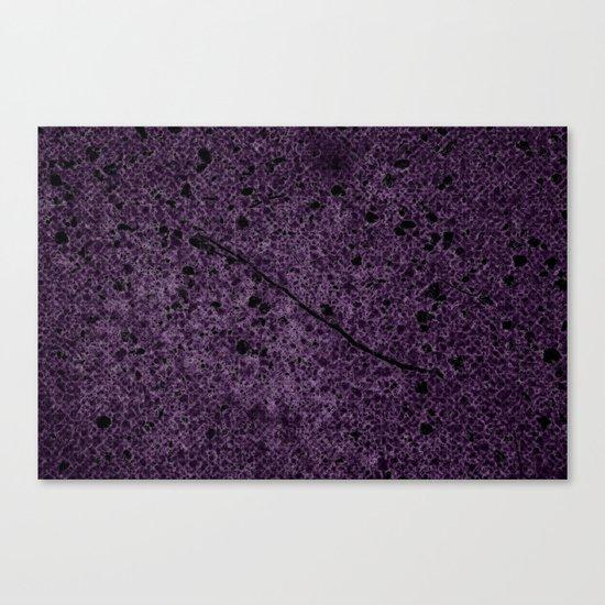 Dark Purple Abstract Canvas Print