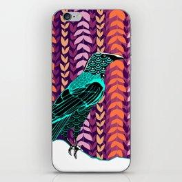 Wild Raven iPhone Skin