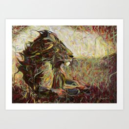 Fire, Wind and Spirit Art Print