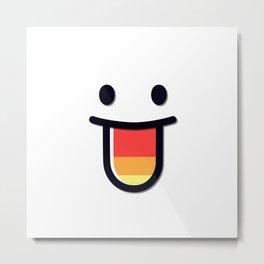 Just Smile! Metal Print