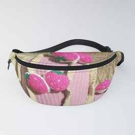 Strawberry Pink Cactus Fanny Pack