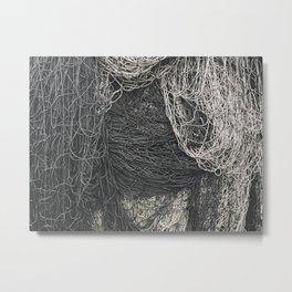 Net Pile I Metal Print