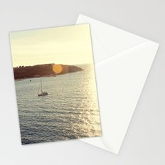 Sailing from the Sun Stationery Cards