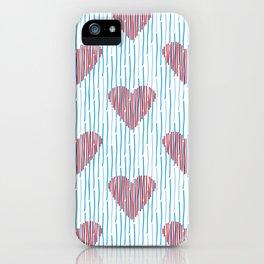It´s raining love iPhone Case