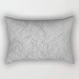 Scribbled Paper Rectangular Pillow