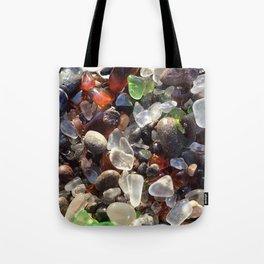 Glass beach California Tote Bag