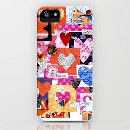 'love squared ...' iPhone Case