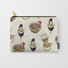 FOOD FAERIES- udon, sushi, and dimsum Carry-All Pouch