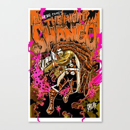 THE MIGHTY SHANGO Canvas Print