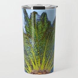 Palm Tree Fronds Travel Mug