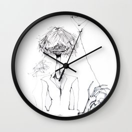 Monsieur Grant et le ballon fou Wall Clock