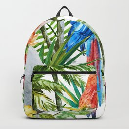 Tropical Bird Pattern 06 Backpack