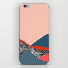 Graphic Mountains iPhone & iPod Skin