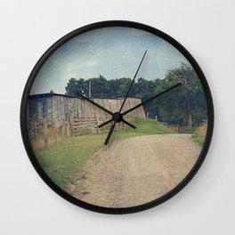 Country Roads Take Me Home Wall Clock
