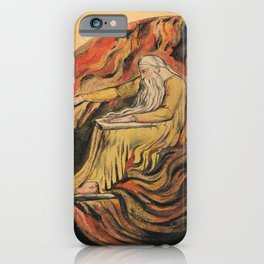 "William Blake ""God Judging Adam"" iPhone Case"