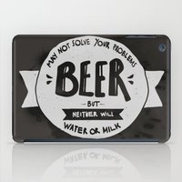 beer iPad Cases featuring Beer by Juliana Rojas | Puchu