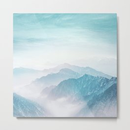 Pastel landscape 04 Metal Print