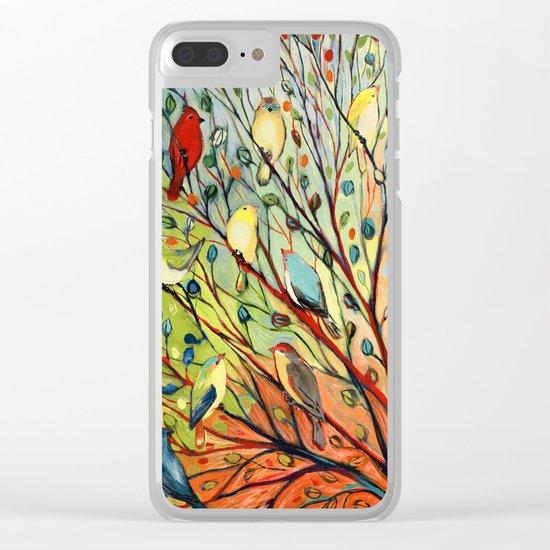 27 Birds Clear iPhone Case