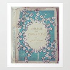Vintage Alice Art Print