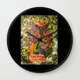 Big Rock Candy Mountain Wall Clock
