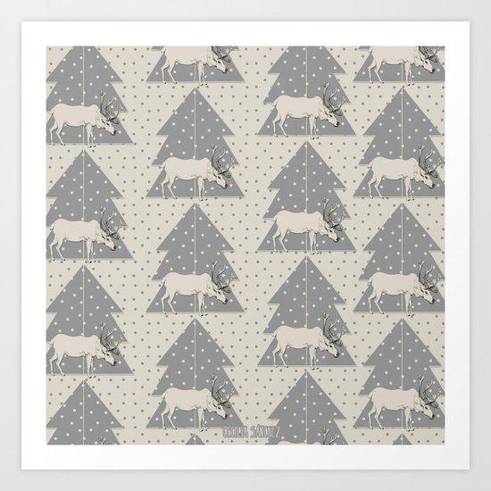 Pattern Reno Art Print