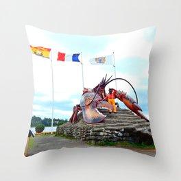 Shediac Lobster Throw Pillow