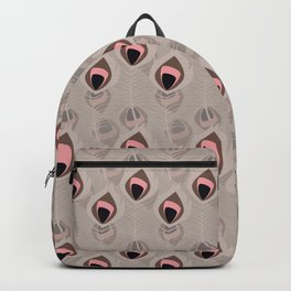 Tribal feather pattern 018 Backpack