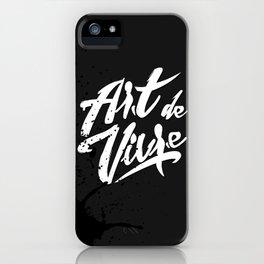 Art de vivre iPhone Case