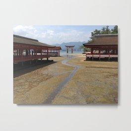 Itsukushima Shrine - Greg Katz Metal Print