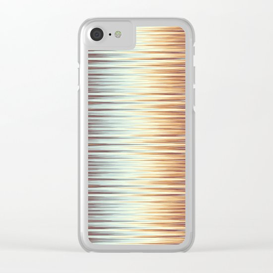 Abstract 389 Clear iPhone Case