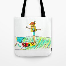 Hang 10 Lady Slider Tote Bag