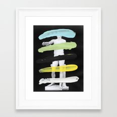 Untitled (Finger Paint 8) Framed Art Print