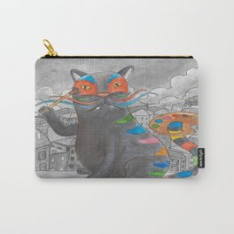 Artist Cat Carry-All Pouch